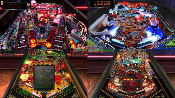 PS4 街機瘋狂彈珠台合輯2 (共含20種彈珠檯+獨家挑戰包) -英文版- Pinball Arcade 2