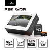 【官方直營】錄得清 LOOKING F911 WIFI版 機車行車記錄器 AHD1080P WDR寬動態 前後雙錄