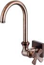 【麗室衛浴】國產 精緻良品 花瓣 壁式 自由水栓 單一出水 LS-34317