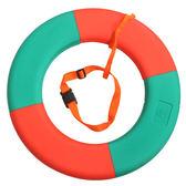 泡沫救生圈日星船用成人實心免充氣抗洪搶險游泳館泳圈加厚安全繩