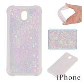 蘋果 iPhoneX iPhone8 Plus iPhone7 Plus iPhone6s 愛心亮片流沙殼 手機殼 保護殼 防摔
