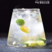 創意日式啤酒杯ins網紅富士山杯酒吧雞尾酒杯 個性無鉛玻璃果汁杯 夢想生活家