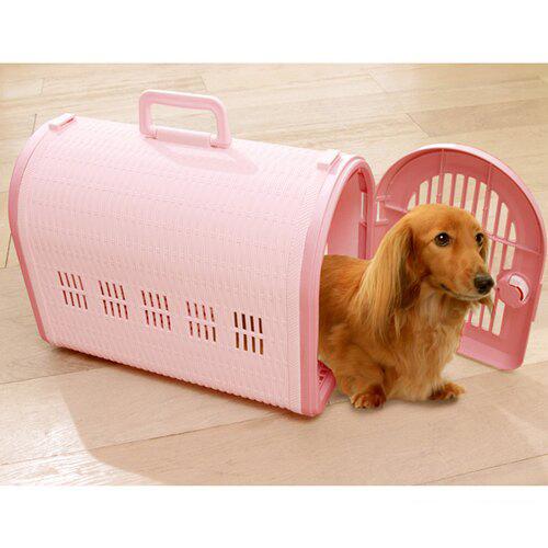 寵物家族-IRIS-BL-460犬貓外出提籠(附背帶) -各顏色可選