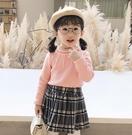 女童上衣 新款秋裝女童上衣兒童裝洋氣純棉保暖高領打底衫冬裝【快速出貨八折下殺】