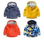 男童外套加絨加厚冬裝兒童寶寶童裝沖鋒風衣0秋冬1歲3小童5潮秋冬裝