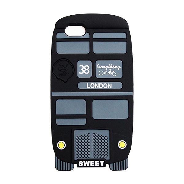 【Candies】London Bus(黑)-IPhone 5/5S/5C/SE