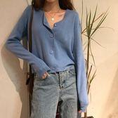 2019秋季新款韓版網紅毛衣開衫外套女寬松短款學生長袖針織衫上衣