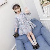 童裝女童秋裝2018新款兒童長袖連身裙春秋韓版公主裙純棉洋氣裙子