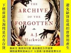 二手書博民逛書店The罕見Archive of the Forgotten Novel from Hell s Library 英