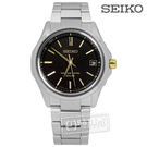 SEIKO 精工 / 7B24-0BN0D.SBTM243J / SPIRIT 品味美學太陽能電波不鏽鋼手錶 黑色 38mm