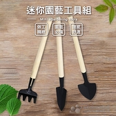 【珍昕】迷你園藝工具組 一組3入(長約17-22cmx寬約2.5-4cm)/花鏟/鏟子/園藝