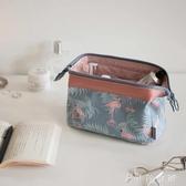 網紅化妝包ins風超火韓國小號便攜女袋手拿簡約隨身化妝品收納盒 --當當衣閣