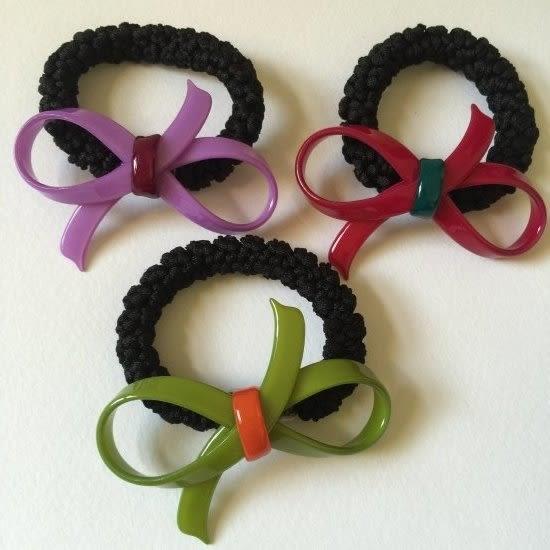 經典氣質款蝴蝶結髮束(變型款)-法國知名品牌,韓星御用韓國製造