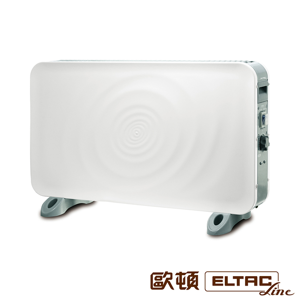 ELTAC歐頓 防潑水浴室房間兩用電暖器 EEH-F04 【福利品九成新】