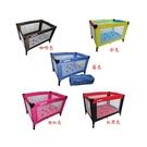 【奇買親子購物網】EMC 輕巧型遊戲床(紅黑/彩色/藍/咖啡/粉紅)+泡泡浴露200ml
