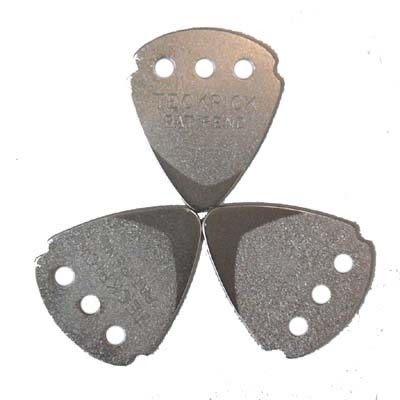 ★集樂城樂器★Dunlop Signature(Teckpick)鐵質感吉他彈片-銀平(12片裝)
