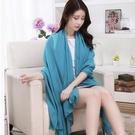 ►超大絲巾 雪紡純色絲巾圍巾 爆款【B7137】