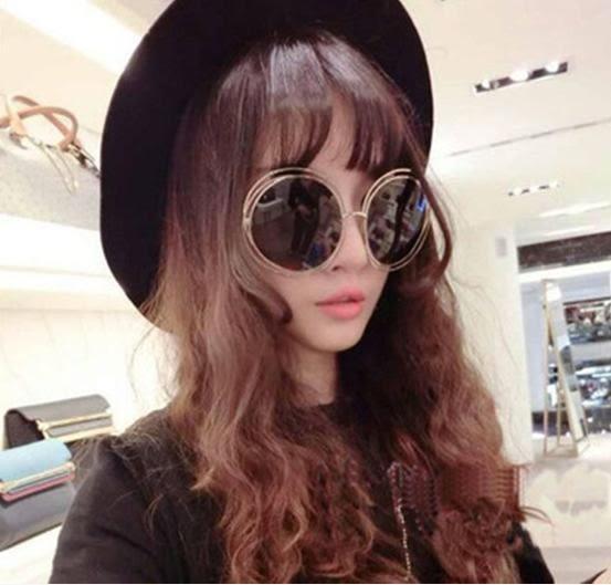 Chloe同款墨鏡【B138】 圓形圈圈墨鏡 明星款太陽眼鏡 孫芸芸 范冰冰