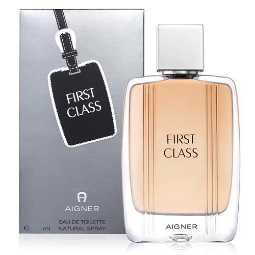 Aigner 愛格納 FIRST CLASS 自信優雅男性淡香水100ml【UR8D】