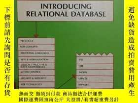 二手書博民逛書店Introducing罕見Relational Database