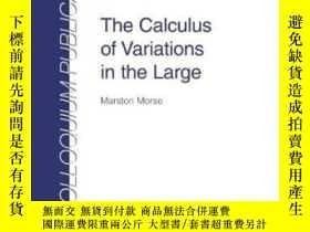 二手書博民逛書店Calculus罕見Of Variations In The Large (colloquium Publicat