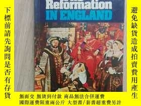 二手書博民逛書店The罕見Reformation IN ENGLAND(英格蘭的