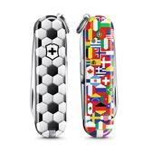2020 限量上市 VICTORINOX 瑞士維氏限量迷你7用印花瑞士刀-足球世界