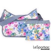 【南紡購物中心】LeSportsac - Standard 側背水餃包/流浪包-附化妝包 7520P F965