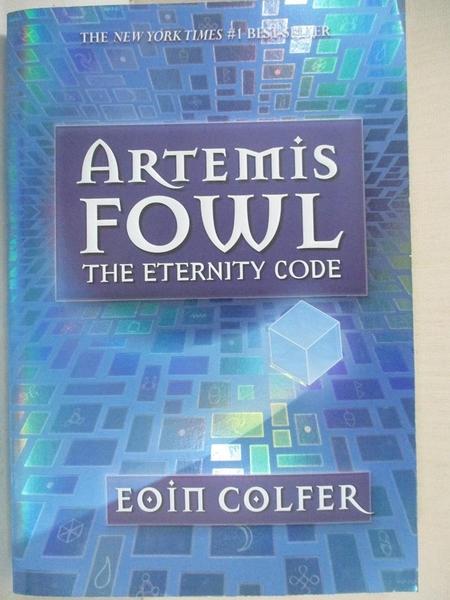 【書寶二手書T4/原文小說_GV7】The Eternity Code: Artemis Fowl
