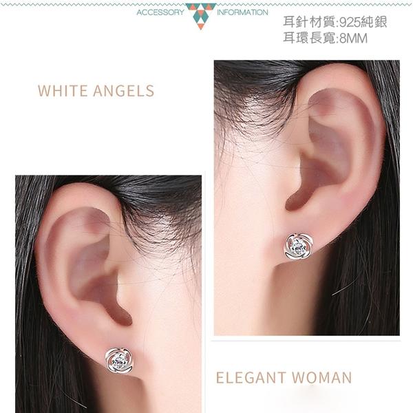 素簡手作《ES027》正白k~耳環 珍珠耳環 蝴蝶結耳環 韓劇耳環 愛心耳環 花朵耳環 純銀耳針