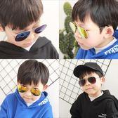 兒童墨鏡個性男童眼鏡小孩太陽鏡男孩眼睛女童舒適親子蛤蟆鏡潮  可然精品鞋櫃