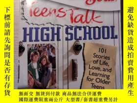 二手書博民逛書店chicken罕見soup for the soul teens talk high schoolY22705