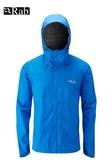 【速捷戶外】英國 RAB QWF-61 Downpour Jacket 男高透氣連帽防水外套(瑪雅藍),登山雨衣,防水外套
