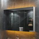 浴室鏡櫃 廁所挂牆式鏡箱 洗手衛生間鏡子 帶置物架壁挂儲物收納一體 快速出貨