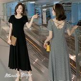 孕婦裝 MIMI別走【P52877】穿出優雅線條 浪漫傘擺顯瘦洋裝 長裙