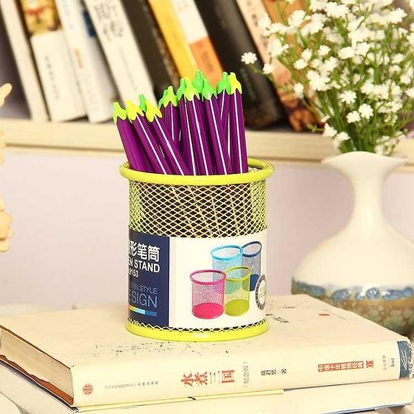 TwinS《茄子》造型中性筆0.5mm【韓版超人氣!好寫好漂亮】