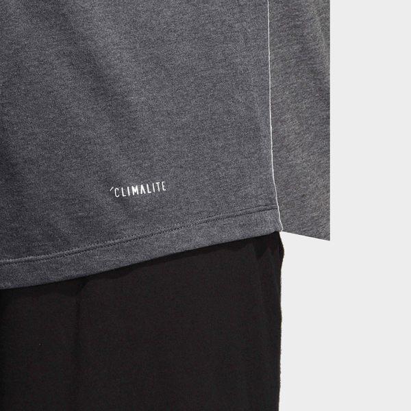 【GT】Adidas 灰藍 短袖T恤 運動 休閒 訓練 透氣 排汗 上衣 短T 愛迪達 基本款 Logo