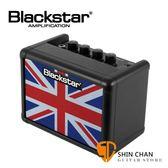 Blackstar Fly3 吉他音箱 限量英國國旗 黑色 / 單顆 電吉他音箱/Delay 效果器/電池可攜帶 台灣公司貨