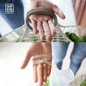 新品家用廚房收納籃超市買菜購物籃手提塑料收納筐拎蔬果放菜籃子