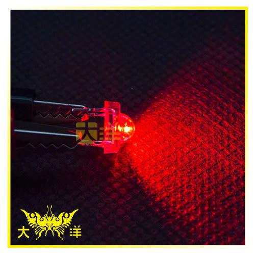 ◤大洋國際電子◢ 食人魚5mm 紅色 高亮度LED (100PCS/包) 0631-R-A LED 二極管