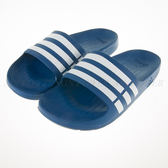 Adidas~Duramo Slide系列 運動拖鞋 藍/白 (G14309)