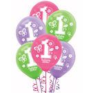 12吋乳膠氣球15入-甜心花園