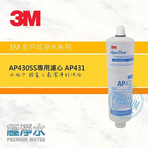 3M AP430SS全戶式抑垢系統 專用替換濾心AP431|極淨水