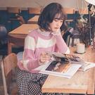 MUMU SHOP【N44143】橫紋寬版超柔軟針織上衣。四色