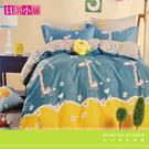 【貝淇小舖】柔細纖維印染 / 童趣無限(雙人加大床包+2枕套)共三件組