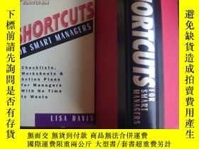 二手書博民逛書店Shortcuts罕見for Smart Managers(硬精