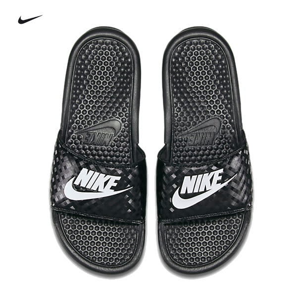 (特價) NIKE WMNS BENASSI JDI 拖鞋 黑白配 343881-011 GD拖鞋 【代購】