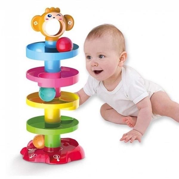【南紡購物中心】【GCT玩具嚴選】快樂智力滾滾球