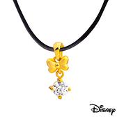 Disney迪士尼金飾 蝴蝶美妮 黃金墜子 送項鍊