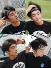 頭巾 運動發帶男街頭潮人韓國男士頭帶嘻哈洗臉個性吸汗束發帶ins頭巾